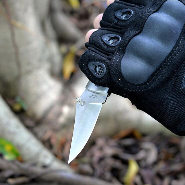 Outdoor Survival Rescue Folding Knife Multifunction Camping Mini Peeler Keychain Tactical Tools
