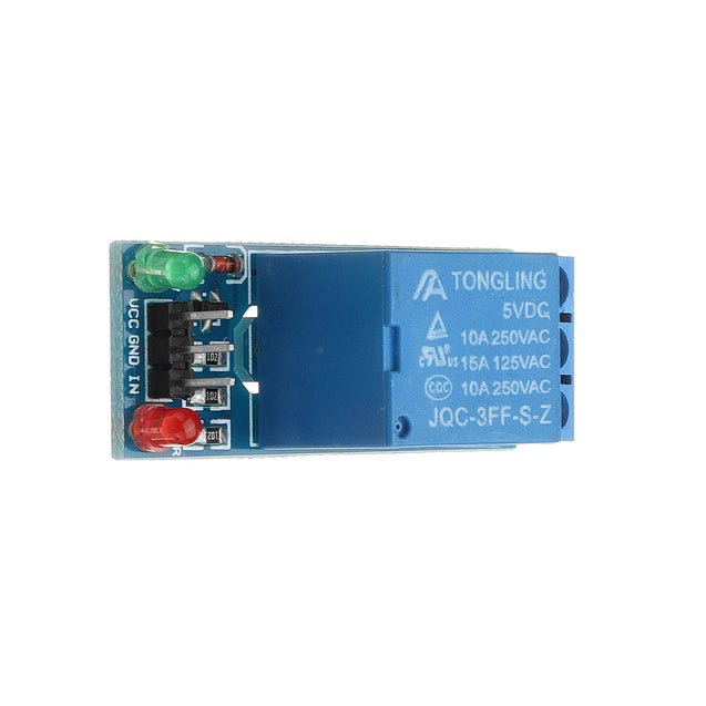 2Pcs 5V Low Level Trigger One 1 Channel Relay Module Interface Board Shield DC AC 220V for Arduino P