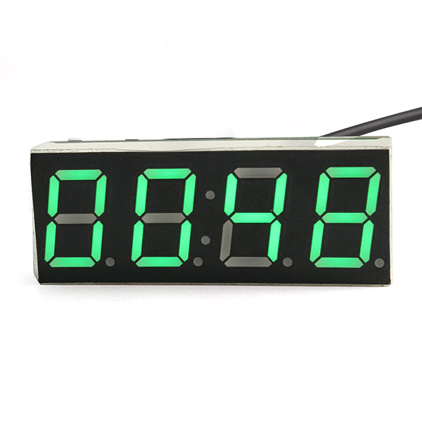 DIY Creative Microcontroller Clock Module With Temperature Date Voltage Measurement