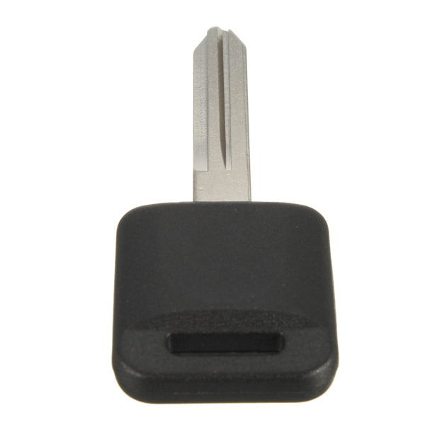 Black Uncut Ignition Chipped Car Key Transponder Chip Replacement For Nissan 60