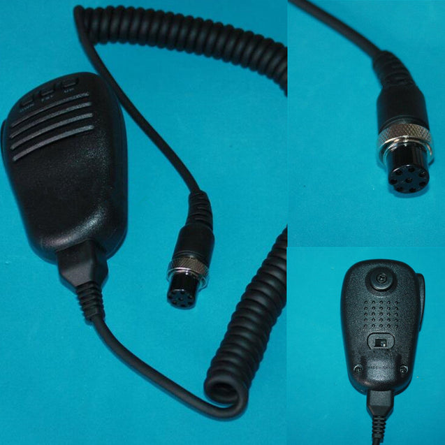Mobile Microphone For Yaesu Radio FT-847 FT-920 FT-950 FT-2000 Replace Black