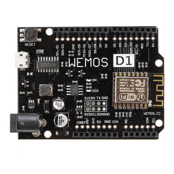 5Pcs New WeMos D1 R2 V2.1.0 WiFi Uno Module Based ESP8266 For Arduino Nodemcu Compatible