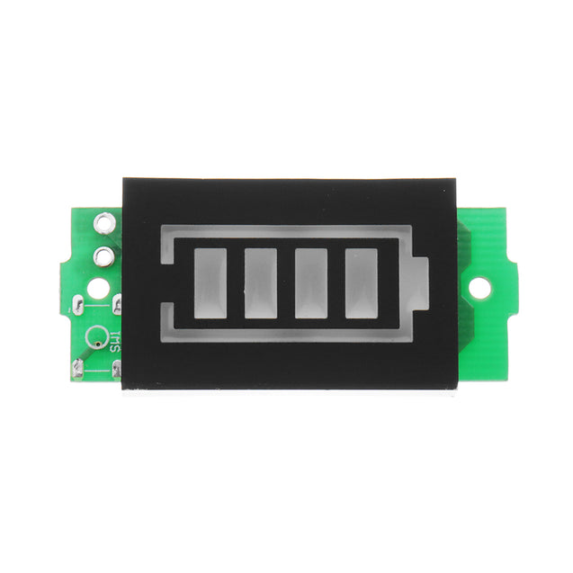 3pcs 1S Lithium Battery Pack Power Indicator Board Electric Vehicle Battery Power