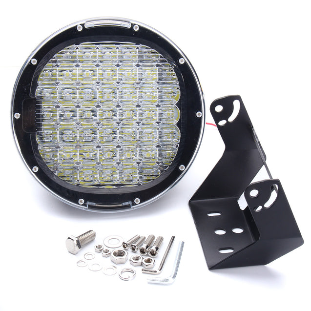 9inch 225W LED Round Work Light Spot Driving Head Light Offroad ATV Truck Lamp