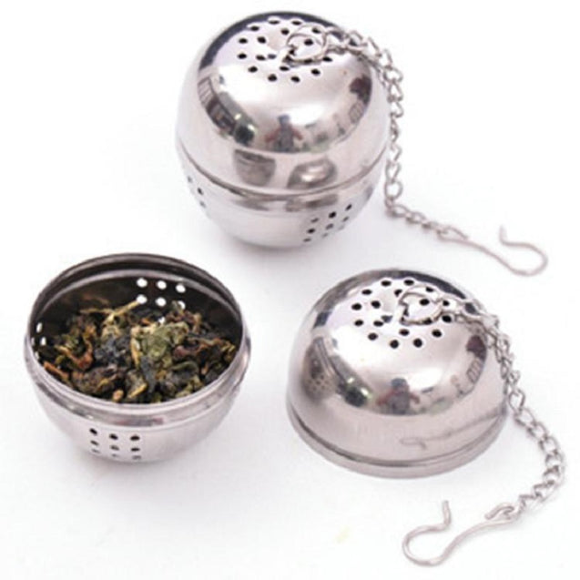Creative Kitchen Products Stainless Steel Soup Ball Stew Seasoning Box Storage Container