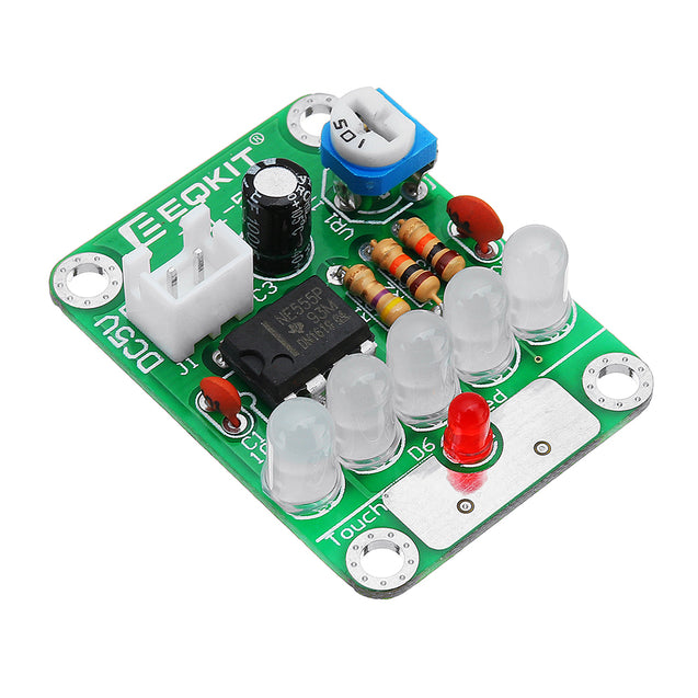 3pcs DC 5V Touch Delay Light Electronic Touch LED Board Light For DIY