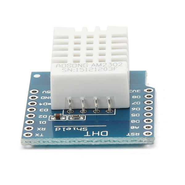 5Pcs Wemos DHT22 Single Bus Digital Temperature Humidity Sensor Shield For WeMos D1 Mini