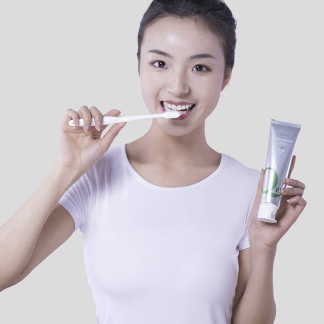 Qingyimeiren 96g Non-irritating Green Tea Toothpaste for Teeth Health Fresh Breath from Xiaomi Ecosystem