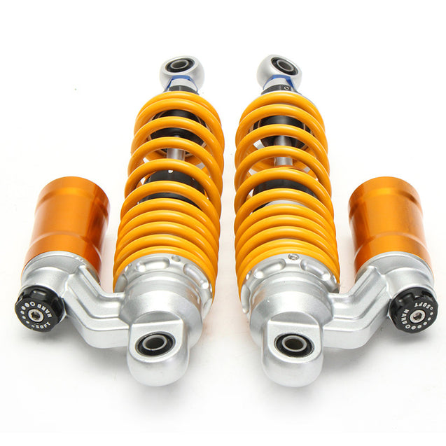 325mm Adjustable Universal Motorcycle Shocks Struts Vibration Absorber Dampers