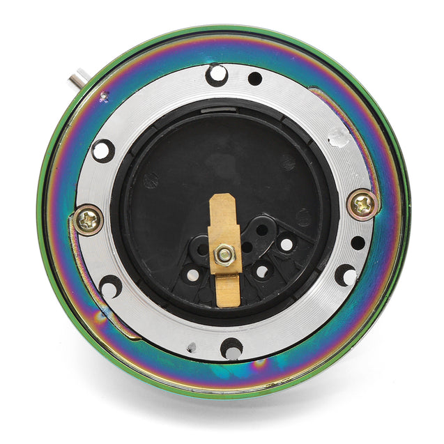 Neo Chrome Universal 1.5 Inch Short Quick Release Steering Wheel Hub Adapter 6 Bolt