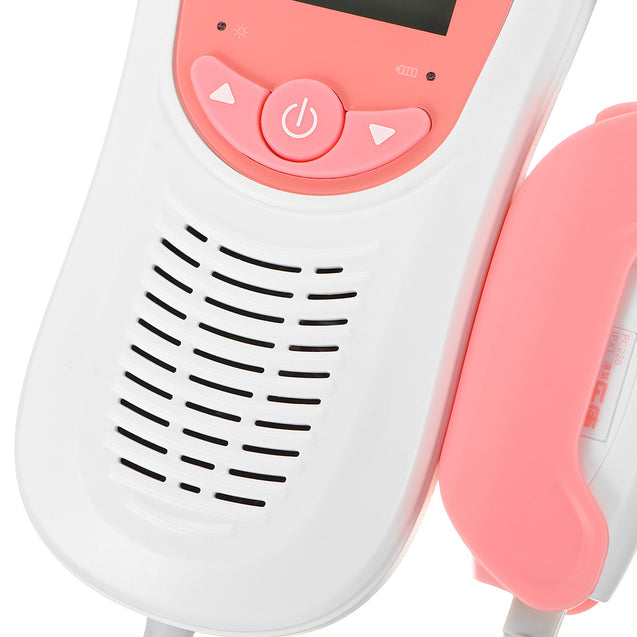 Display Fetal Doppler Baby Monitor Radiation-free Safe Portable Listening Device To Listen To the Sounds Portable Accurate