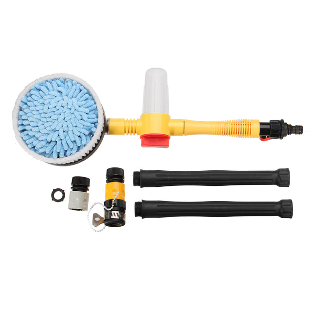 High Pressure Car Foam Brush Rotating Automatic Sponge Hose Washing Cleaner Cup