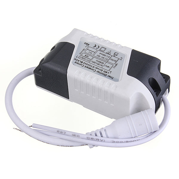 3W LED Dimmable Driver Transformer Power Supply For Bulbs AC85-265V