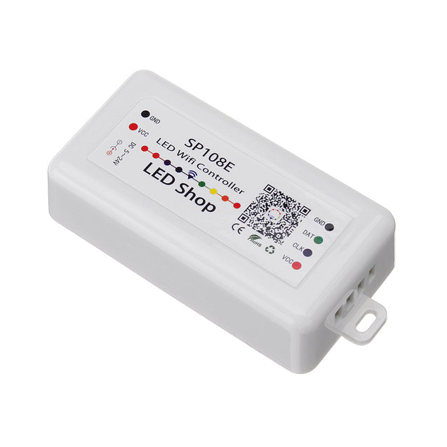 DC5-24V SP108E Smart Wifi APP Control Dimmer Controller for IC WS2811 WS2812B Magic Color LED Strip Light