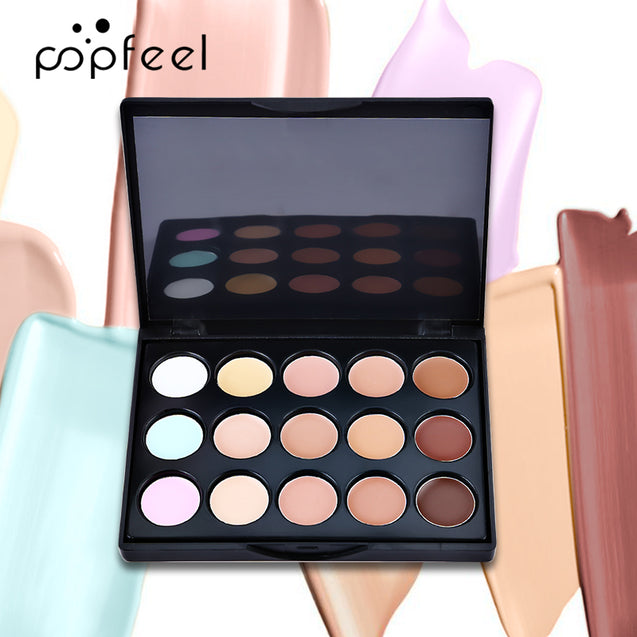 POPFEEL Eye Shadow Set Eyeshadow Lipstick And Brushes