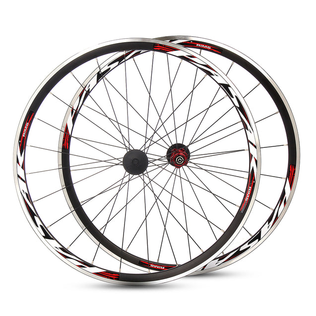 PASAK 700C Ultralight Road Bicycle Wheel Front Rear Wheelset Aluminum Rim C/V Brake