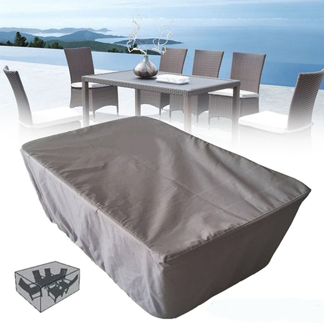 200x160x94CM Garden Patio Table Waterproof Cover Outdoor Furniture Dust Shelter Protection