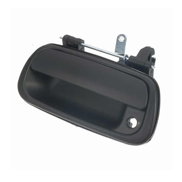 Tailgate Exterior Rear Door Handle Smooth Black For Toyota Tundra 2000-2006