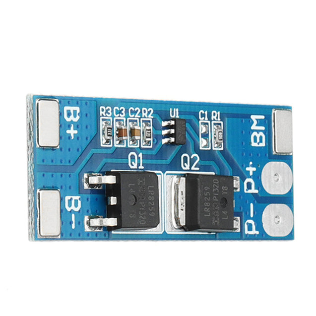 5pcs 2S 7.4V 8A Peak Current 15A 18650 Lithium Battery Protection Board With Over-Charge Protection