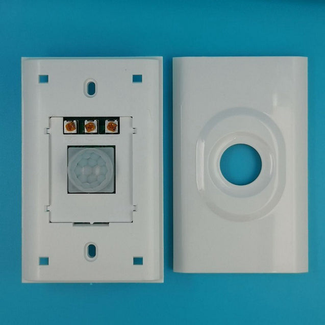 118MM Adjustable PIR Motion Sensor Light Switch Three Line US Standard for LED Energy Saving Lamp AC90-270V