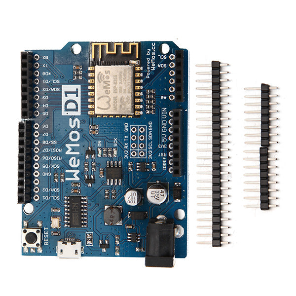 3Pcs WeMos D1 R2 WiFi ESP8266 Development Board Compatible Arduino UNO Program By Arduino IDE