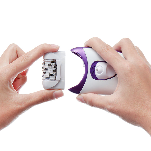 4 in 1 Electric Callus Remover Rechargeable Epilator Device Hair Removal Shaver