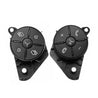 Left+Right Car Steering Wheel Control Worn Button Cover For Mercedes W164 ML GL W251 R Class 2010-2012