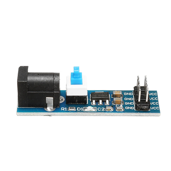 3Pcs AMS1117 3.3V Power Supply Module With DC Socket And Switch