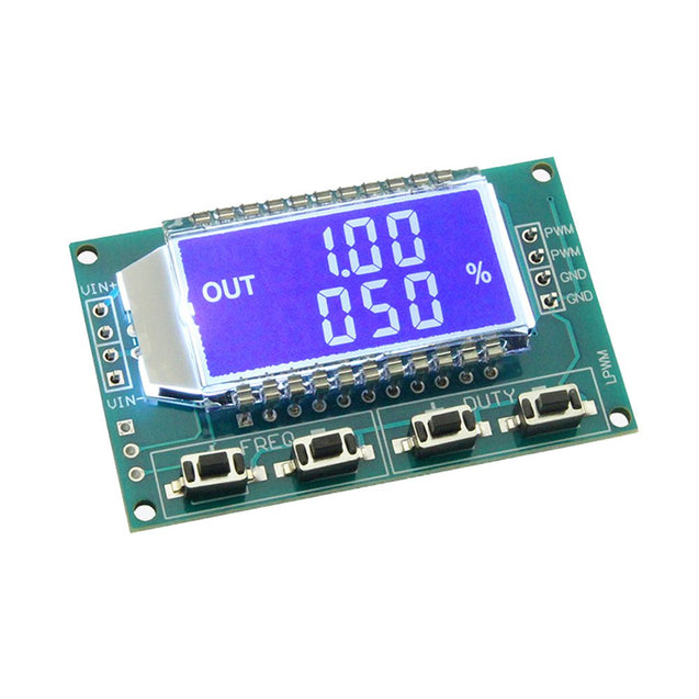 3pcs Signal Generator PWM Pulse Frequency Duty Cycle Adjustable Module With LCD Display 1Hz-150Khz 3.3V-30V