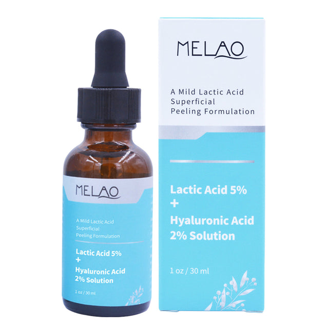 Lactic Acid Solution Essence Hyaluronic Acid Exfoliating Moisturizing Facial Essence Lactic Acid