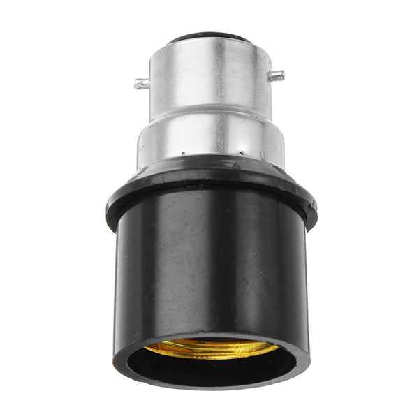 B22 to E27 Bulb Lamp Converter Socket Base Holder Adapter AC220V
