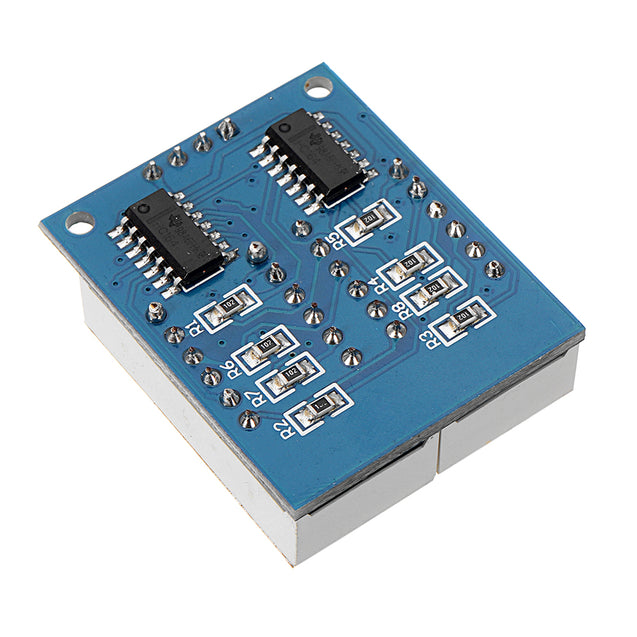 5 Pcs 8-Bit Serial Interface Red Highlight Digital Tube Display Module 74HC164 LCD Driver Board