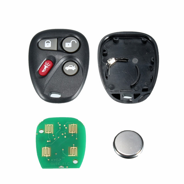 4 Button Replacement Keyless Entry Remote Key Fob Alarm Shell For Koblear