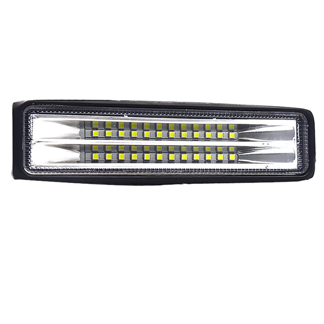 72W Double Row LED Work Light Bar Fog Light 9-32V for Motocycle Offroad Tractors Trucks Cars