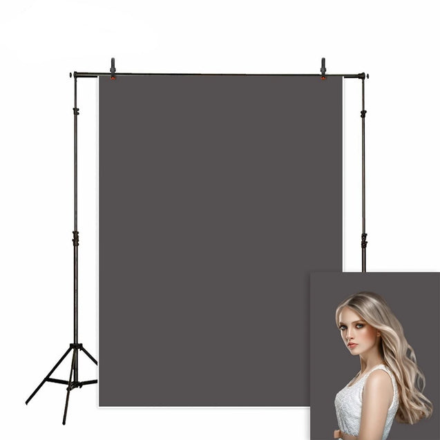 Solid Gray Studio Photography Backdrop
