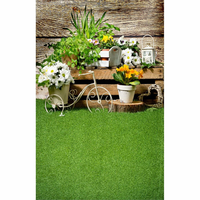 Easter Flower Spring Garden Wood Grass Photography Background Backdrop