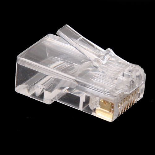 100 x RJ45 RJ-45 CAT5 Modular Plug Network Connector