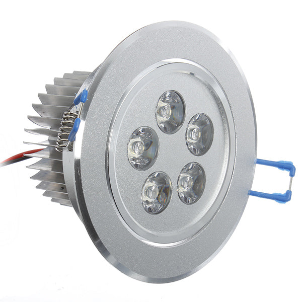 5W 3000-3500K Warm White LED Ceiling Light 85-265V