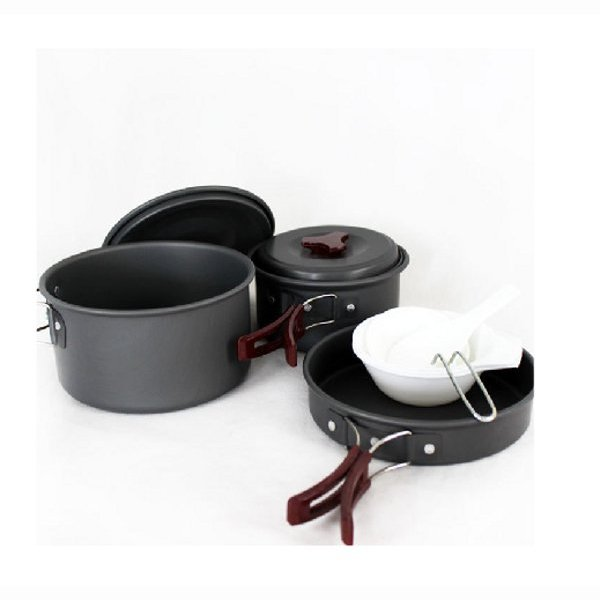 High Quality 2-3 People Sets Pan/Camping Set Of Pan/Sets Pot (Can Compare With Huo Feng FMC20 Sets Pot )