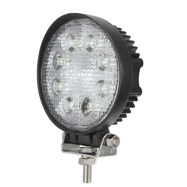 24W 8LED Spot work Lamp Light Off Roads For Trailer Off Road Boat