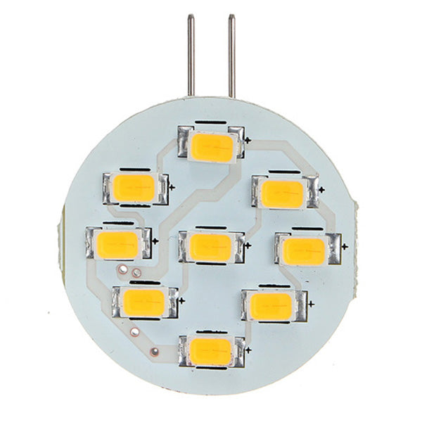 G4 3W LED 9 SMD 5630 Car Warm White Light Bulb Lamp DC 12V