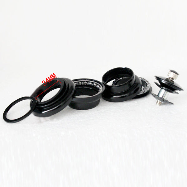 34mm Bike Bicycle Loose Beads Lubrication Bearings Axis Headset