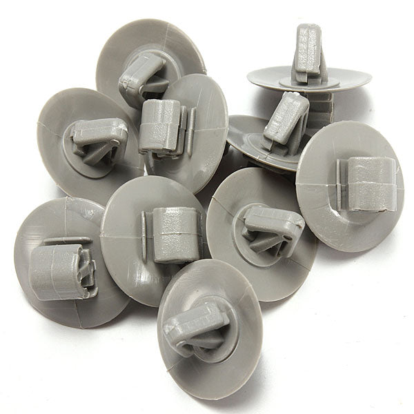 10 x Exterior Door Card Moulding Trim Panel Retainers Clips
