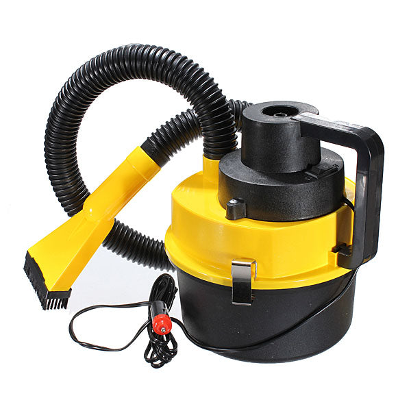 Portable Wet And Dry Car Vacuum Cleaner Auto Hoover Air Pump 12V