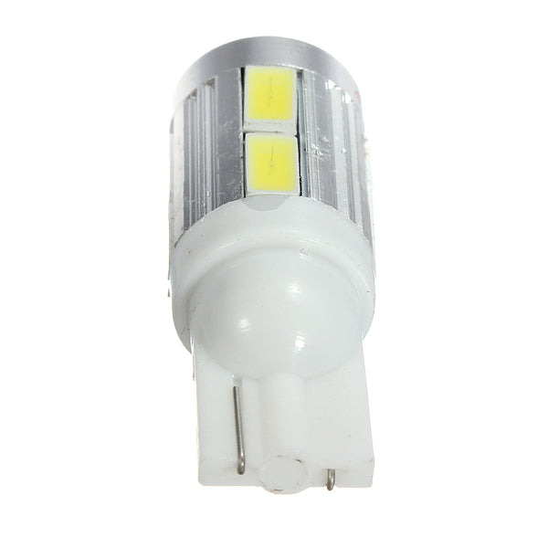 T10 10SMD 5630 LED Canbus Parking Light Rear Lamp Bulb White