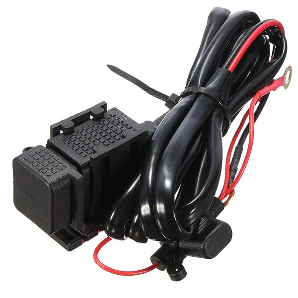 USB Power System Charger Cable 12V 5V Travel Provided Power