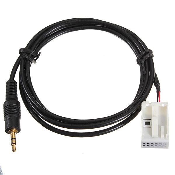 3.5mm Jack Plug CD 6000 AUX Audio Input Adapter Cable for Ford