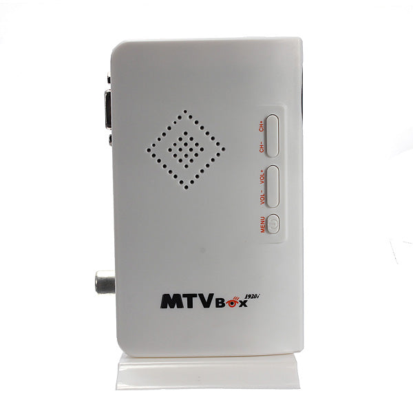 LCD VGA External TV PC BOX Digital Program Receiver with Speaker