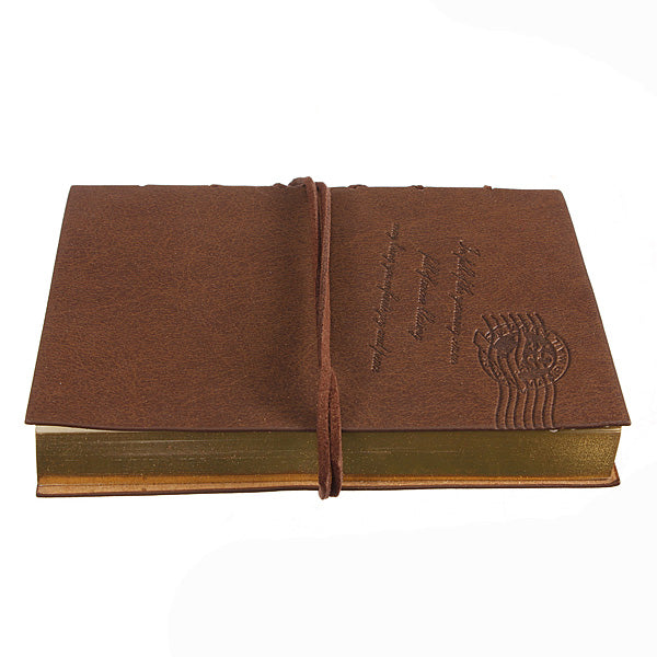 Retro Leather Classic String Key Blank Diary Journal Notebook