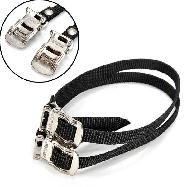 Fixed Gear Bike Bicycle Pedal Toe Straps Foot Straps Binding Band
